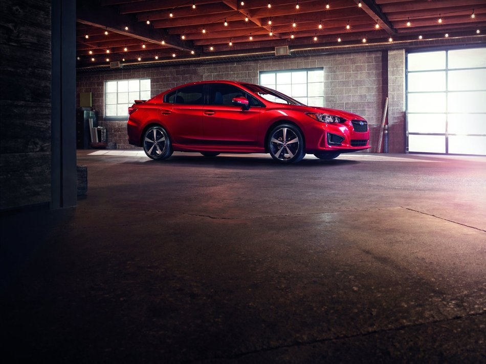 Мировая премьера  новой Subaru Impreza